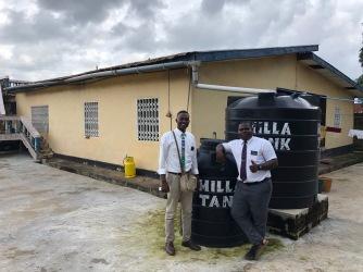 Elder Mbuva and Elder Iyalla at the IDA apartment