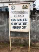 Statistics Sierra Leone