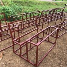 Frames at a third welding shop